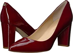Dark Red Patent Leather