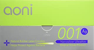 Aoni Condoms - NS Ultrathin 001 12 PCS - Premium 001 Series - Water Based Lubricant