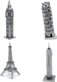 Metal Earth 3D Laser Cut Model - 4 Landmarks Set