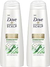 Dove Dermacare Scalp - Anti-Dandruff 2 in 1 Shampoo + Conditioner - Invigorating Mint - Net Wt. 12 FL OZ (355 mL) Per Bott...
