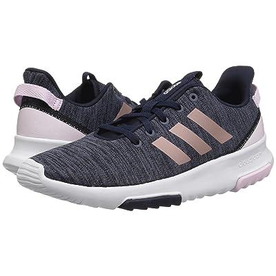 adidas Kids Cloudfoam Racer TR (Little Kid/Big Kid) (Legend Ink/Vapor Grey Metallic/Aero Pink) Kids Shoes