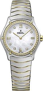 EBEL Ladies 1216390A Sport Classic 18K Gold & Steel Swiss Quartz Watch
