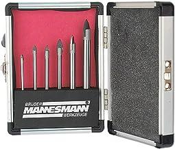 Brueder Mannesmann M54806 - Juego de brocas para taladro (6 piezas)