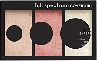 Covergirl Sculpt Expert Multiuse Cheek Palette, Blush Touch, 0.22 Ounce