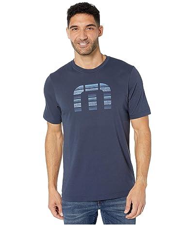TravisMathew Social Media T-Shirt (Mood Indigo) Men