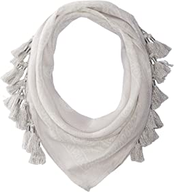 Chan Luu - Bandana Print Neckerchief with Tassels