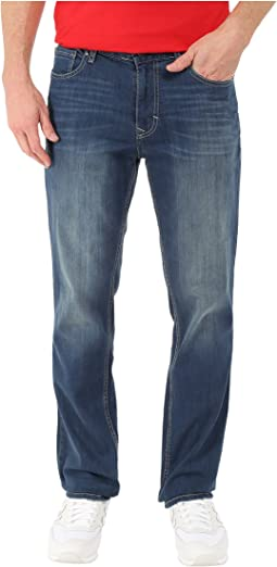 Calvin Klein Jeans Slim Straight Denim in Authentic Blue