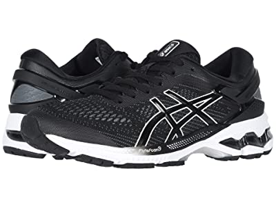 ASICS GEL-Kayano(r) 26 (Black/White) Women