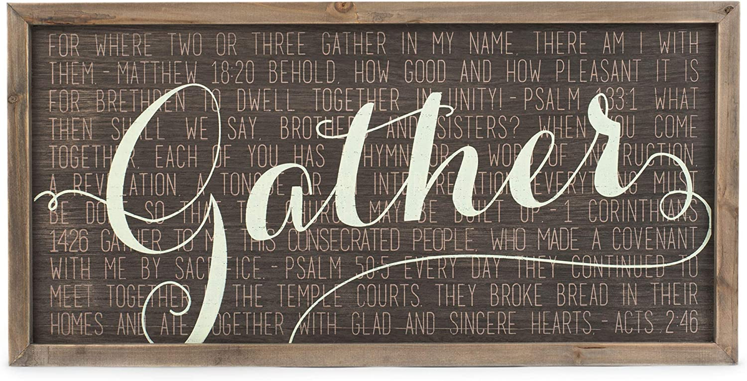 Dicksons Great interest Gather Acts 2:46 Mocha with Vanilla Today's only 20 x Wood 10 Script