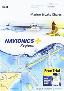 navionics lakes east