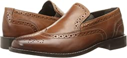 Nunn Bush Norris Wing Tip Double Gore Dress Casual Slip-On