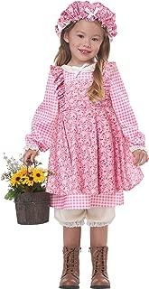 California Costumes Little Prairie Girl Toddler Costume