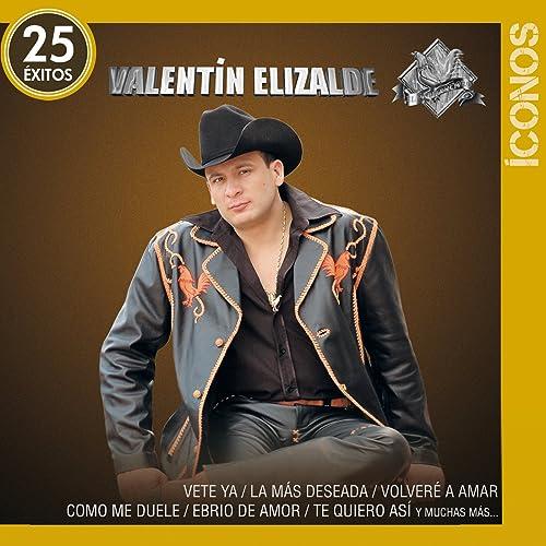 íconos 25 éxitos De Valentín Elizalde En Amazon Music Amazon Es