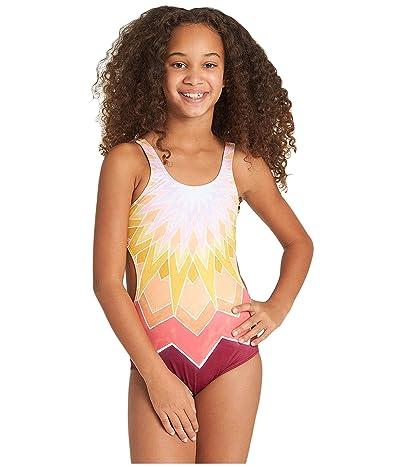 Billabong Kids Little Sun One-Piece (Little Kids/Big Kids) (Marigold) Girl