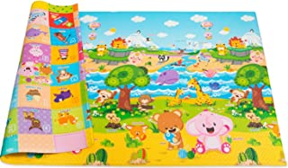 Baby Care Play Mat Foam Floor Gym – Non-Toxic Non-Slip Reversible Waterproof,..