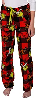Dr. Suess's The Grinch Women's Plush Pajama Pants