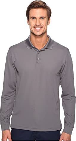 UA Tac Performance Polo Long Sleeve