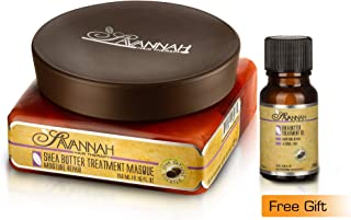 Savannah Hair Therapy Treatment Mask 250 ml and Free Savannah Hair Therapy Treatment Oil 10 ml - Shea Butter Treatment, Natural Keratin for Dry and Damaged Hair. Sodium Chloride and Sulfate Free.