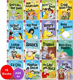 Biff, Chip and Kipper Stage 3 Read with Oxford: 5+: 16 Books Collection Set