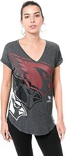 Ultra Game NFL Women's Soft V-Neck Tee Shirt