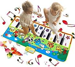 Reditmo Alfombra de Piano, Música Alfombra de Teclado Táctil Musical Touch Juego Musical para Bebé Niños