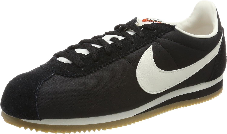 Nike herrar Classic Cortez Nylon Premium Low -Top skor
