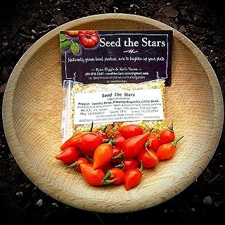 HIGH Germination Seeds:100+ Sweety Drop Biquinho Pepper Seeds/Chupetinha/Little Beak/Rubber Nipple