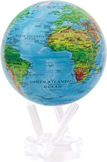 "MOVA Globe Relief Map Blue 4.5"""