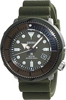 Prospex Street Sports Solar Diver's 200M Green Dial with Silicone Band Watch SNE535P1