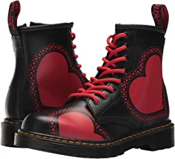 Dr. Martens Kid's Collection - Delaney HRT 8-Eye Boot (Little Kid/Big Kid)