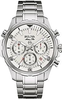 Bulova - – Reloj de Pulsera Hombre cronógrafo Cuarzo Acero Inoxidable 96b255