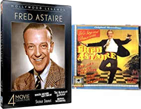 Top Hat Dance Legend of Hollywood Fred Astaire Collection You'll Never Get Rich / Notorious Landlady/ Second Chorus / Royal Wedding 4 Film DVD + CD 1935 - 1938 Music Recordings Classic Movie Film Pack