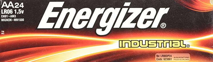 Energizer AA Alkaline Industrial Value Pack Batteries 24 pk