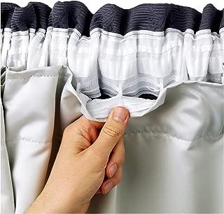 Hachette - Forro térmico opaco para cortinas, con tecnolog