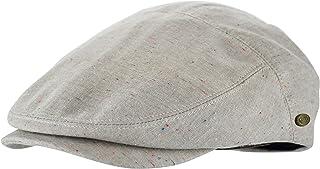 Men's Premium Cotton Summer Newsboy Cap SnapBrim Ivy Driving Stylish Hat