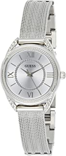 Guess Women's Silver Dial Stainless Steel Band Watch - W1084L1