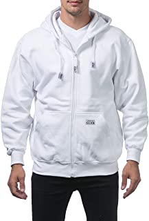 Pro Club Men's Heavyweight Full Zip Fleece Hoodie