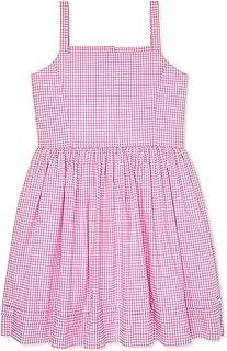 Ralph Lauren Polo Girls Gingham Poplin Dress