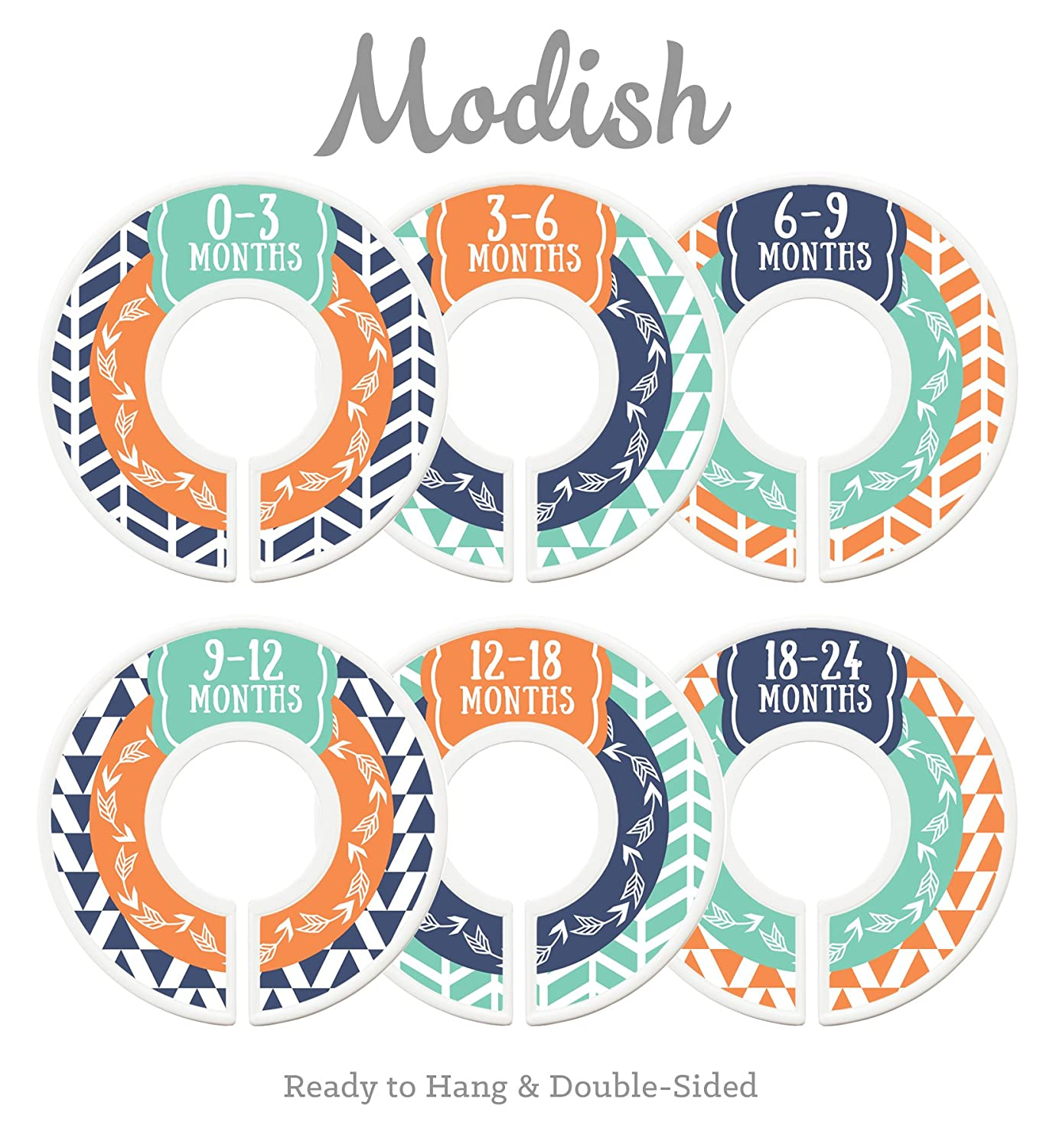 Modish Max 82% OFF Labels Baby Special sale item Nursery Closet Organizers N Dividers