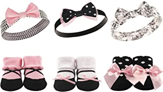 Unisex Baby Headband and Socks Gift Set