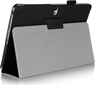 ProCase Galaxy Note 10.1 Case Ultra Slim Folio Stand Leather Case Cover for Galaxy Note 10.1 Inch N8000 N8010 N8013 Tablet (Flip Stand Case, Black)