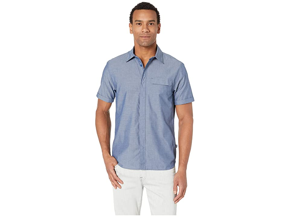 Helly Hansen Huk Short Sleeve Shirt (Catalina Blue) Men