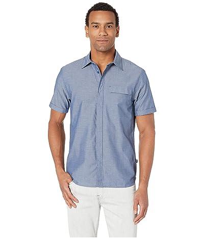 Helly Hansen Huk Short Sleeve Shirt (Catalina Blue) Men