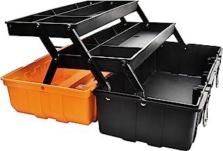 17-Inch Three-Layer Plastic Storage Box/Tool Box/Sewing Box Organizer, Multipurpose..