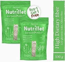 Pristine Organics Nutrillet Barnyard Millet/Sanwa Chawal, 500 g (Buy 1 Get 1)