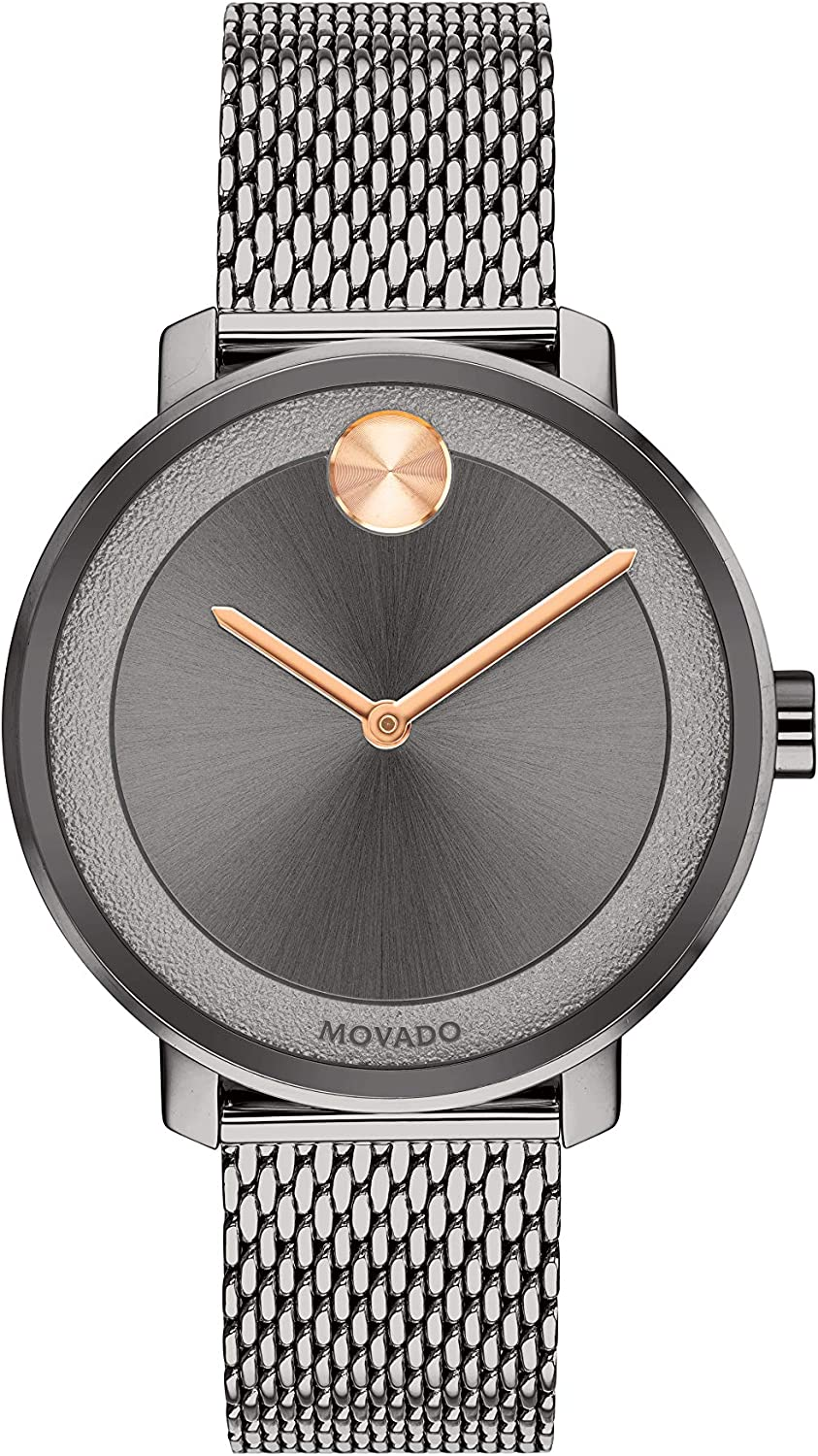 Movado Ionic Plated Ranking TOP15 Grey Case Inexpensive 3600581 Steel Model: