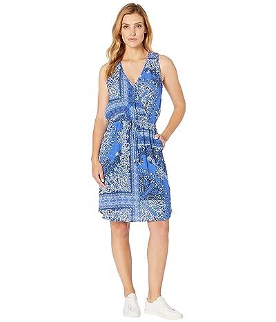 Karen Kane Bandana Dress (Print) Women