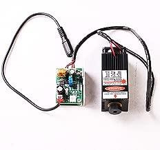 Ensfouy Blue Laser Module 450nm 5500mW Laser Head + Heatsink Cooling Fan DIY Focusing Laser Cutter CNC 450nm 5.5W
