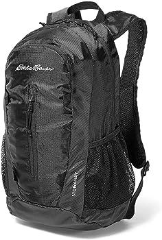 Eddie Bauer Stowaway 20l Daypack Onyx Packable Backpack
