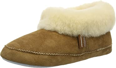 Shepherd of Sweden Emmy Chestnut Sheepskin Slipper Boot